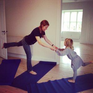 Yoga er sjovt i Yogaoasen