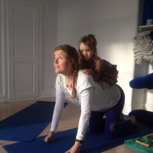 Børneyoga i Yogaoasen ørneyoga