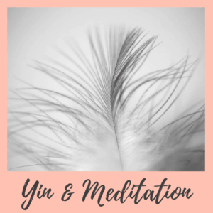 yin yoga og meditation